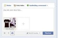 Facebook update voor bedrijfspagina's; foto's plaatsen