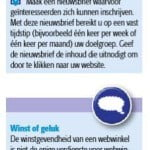Blog Marisca Kenter in Checklist Webwinkel
