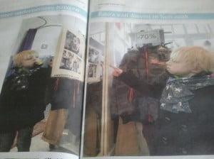 Milan (nog wel wat witjes) in het Algemeen Dagblad