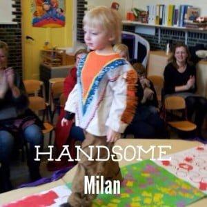 Modeshow Milan Kenter Marisca Kenter