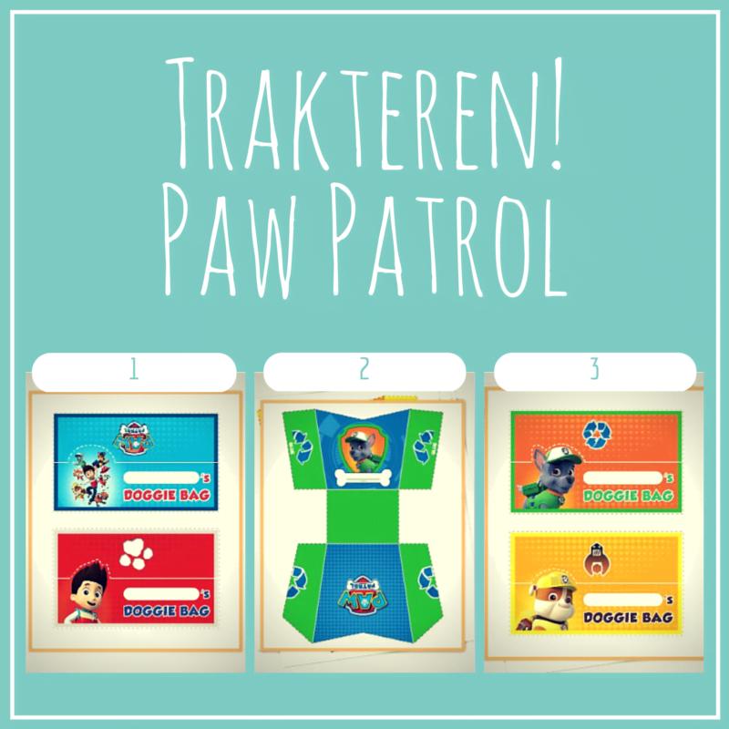 Trakteren? Paw Patrol!