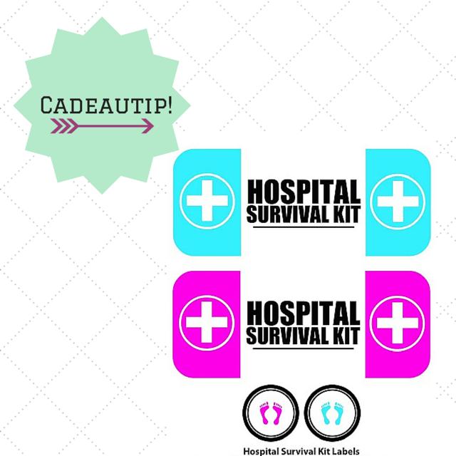 Even tussendoor: ziekenhuis survival kit met printables!