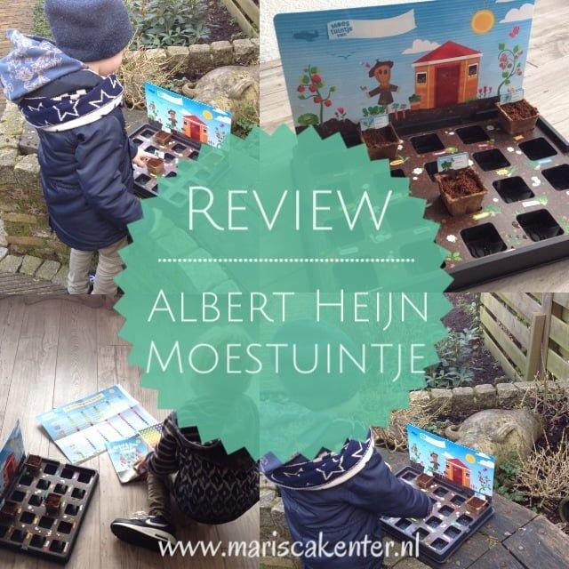 Review  het Albert Heijn moestuintje!