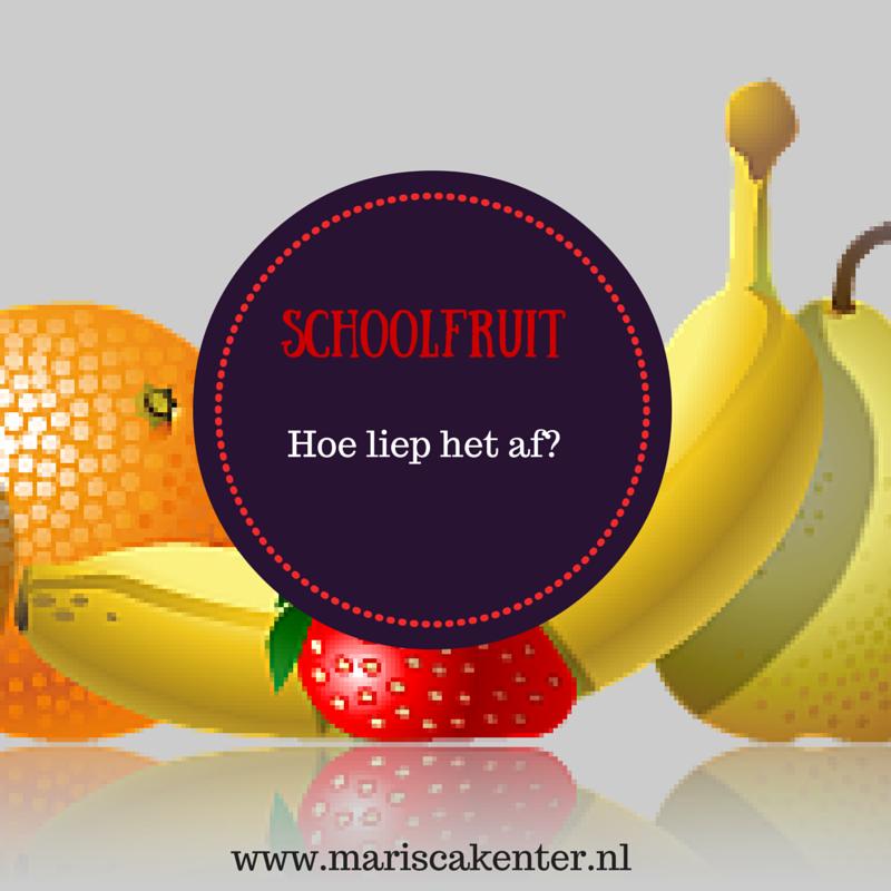 Fruit op school| Hoe liep het af?