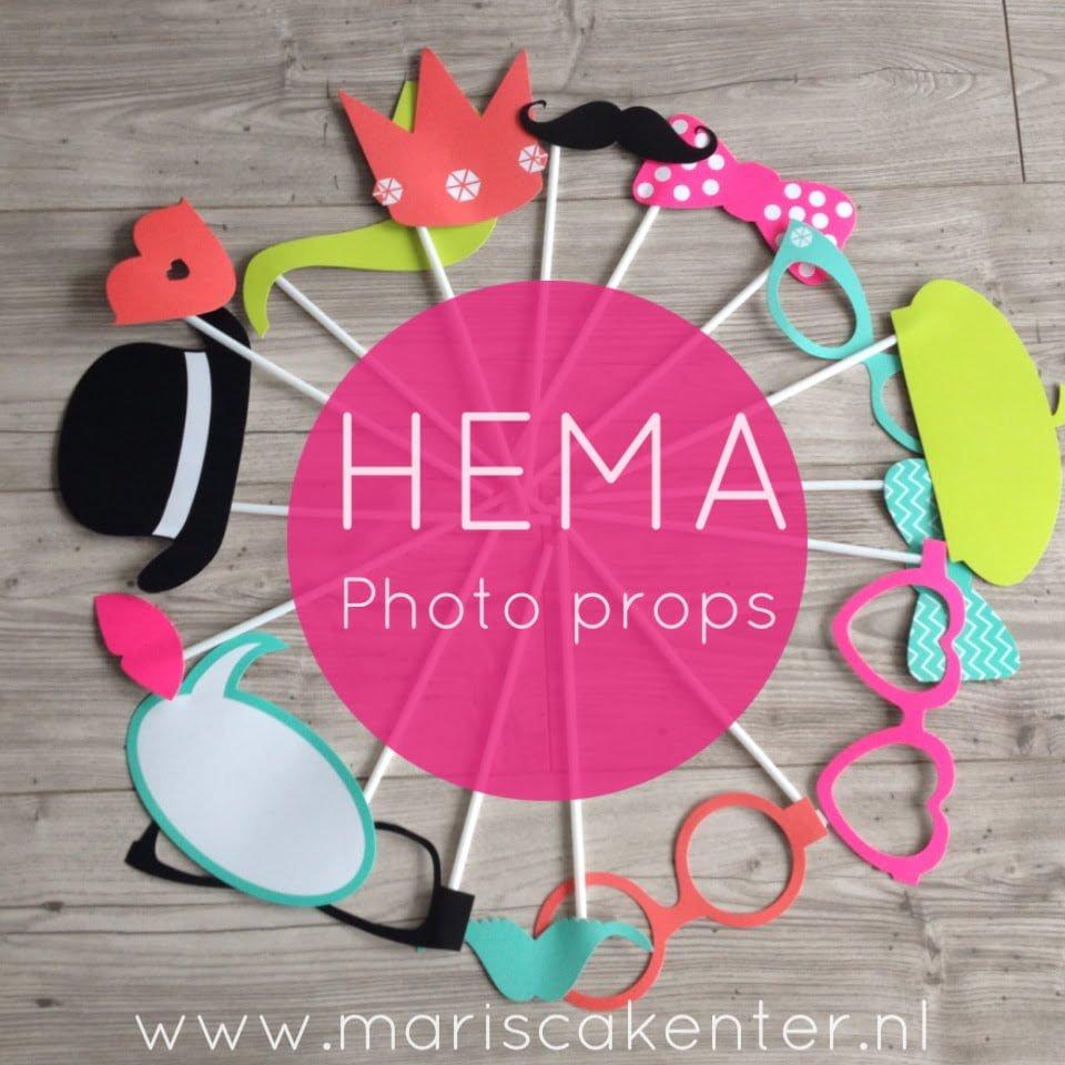 Extreem Te leuk om te laten liggen: HEMA Photo props! | Mamablogger  RM58