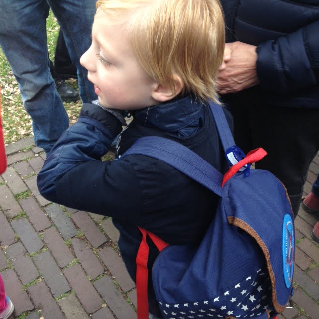 Voor het eerst op schoolreis!