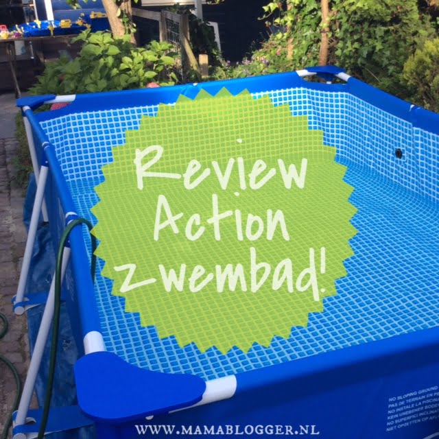 Review mega grote zwembad van de action mamablogger for Zwembadpomp action