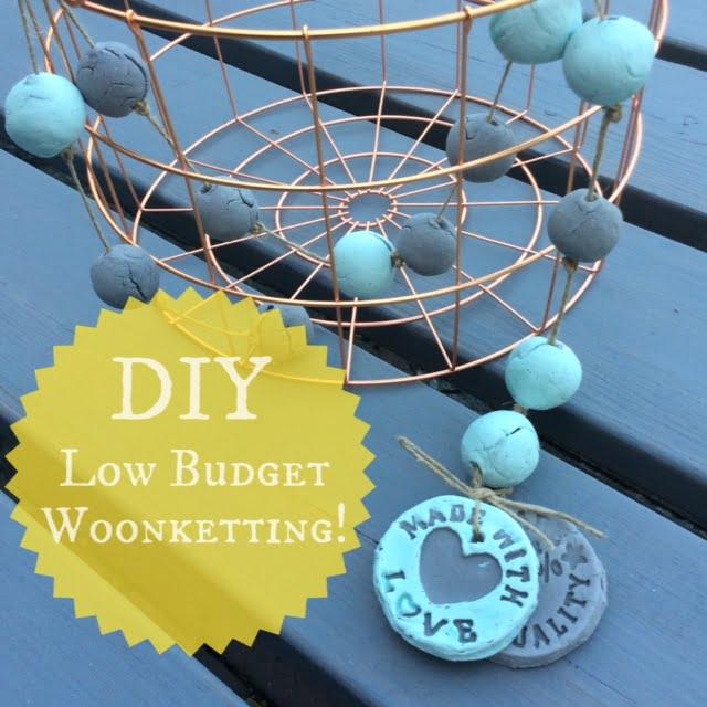 DIY| Zelf een low budget woonketting maken!