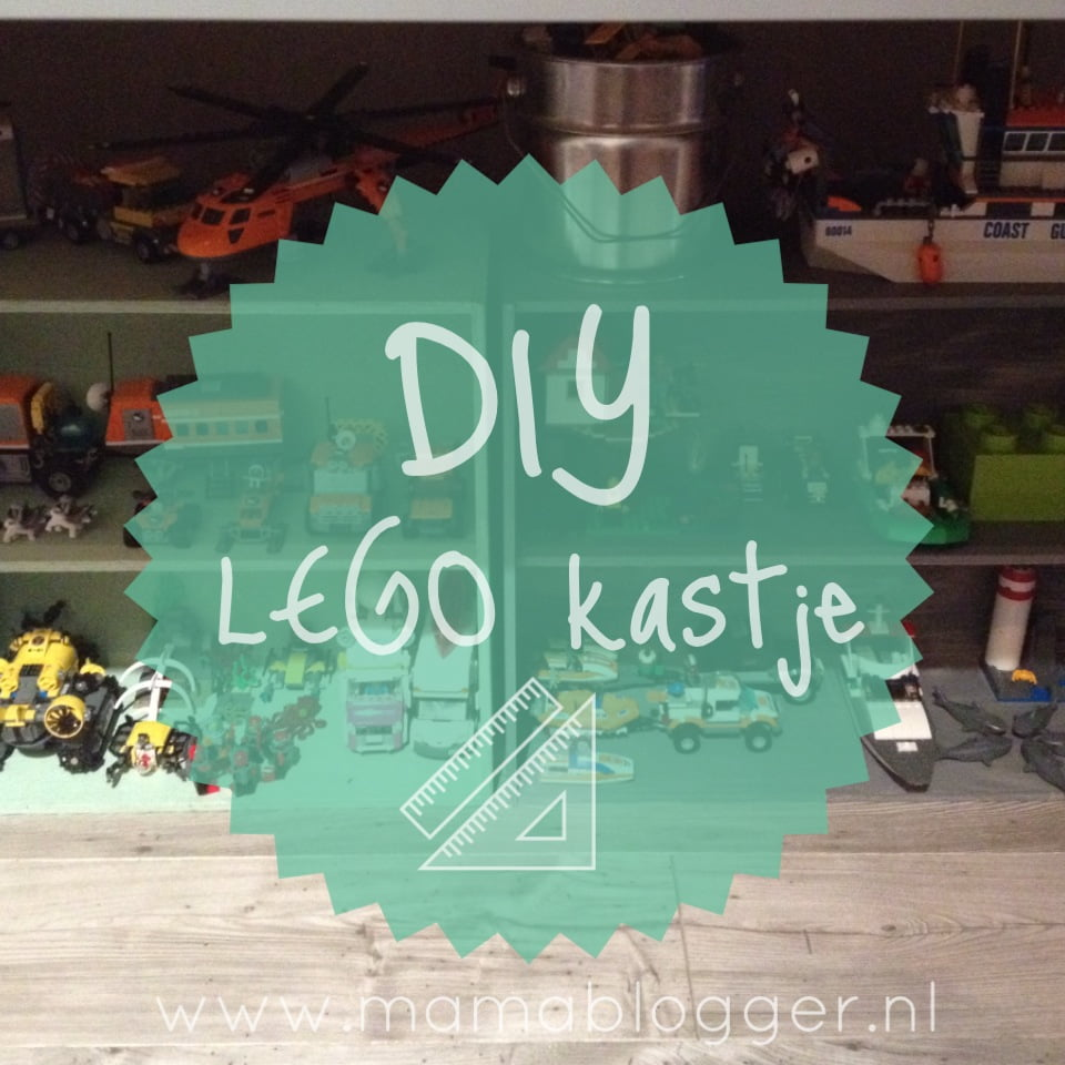 DIY  goedkoop LEGO kastje met GAMMA en Action!