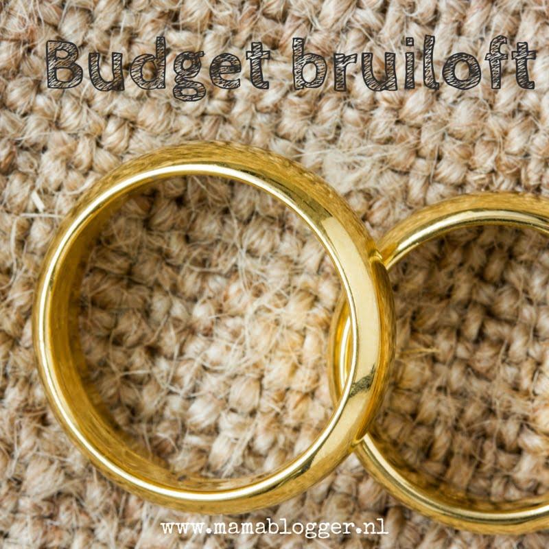 budget bruiloft, trouwen voor €700, mamablogger, Marisca