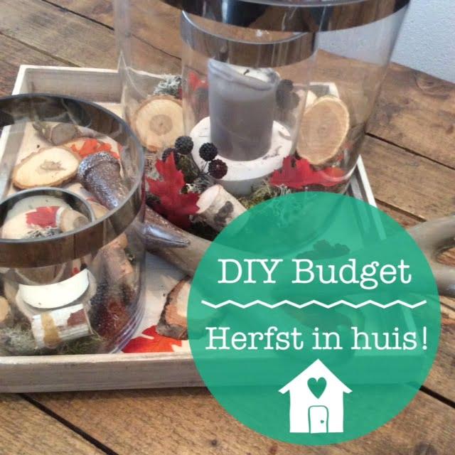 DIY budget| Herfst in huis met Action