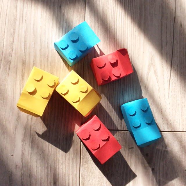 LEGO traktatie voor de juffen en meesters!