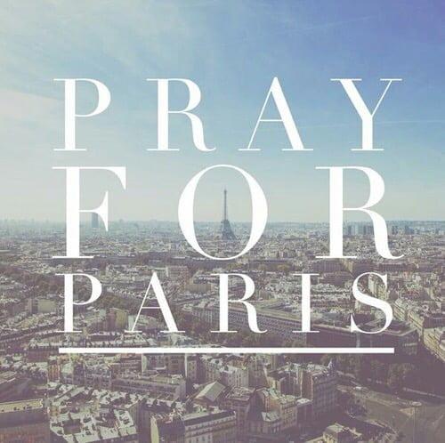 Parijs  een dag met een dikke vette zwarte rand…