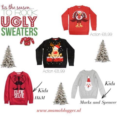 Kersttrui Voor Kinderen.Foute Kersttrui Hema Action Kalkoen Rendier Kinderen Mamablogger 3