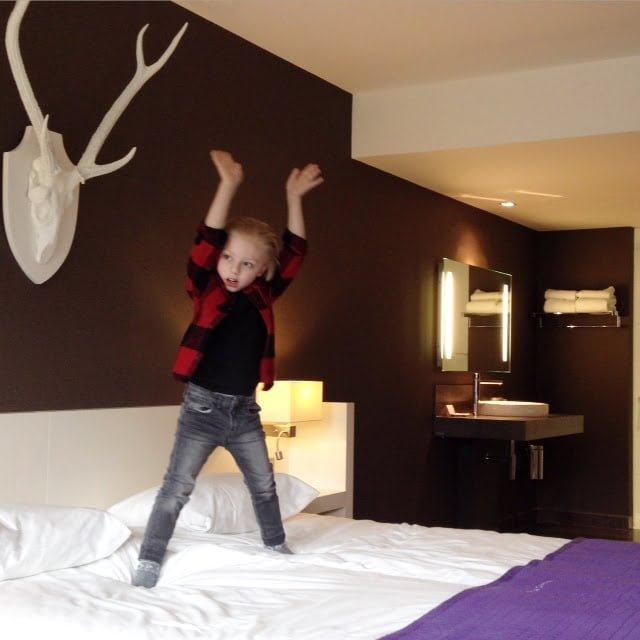 Kerst in een hotel, hoe beviel dat?
