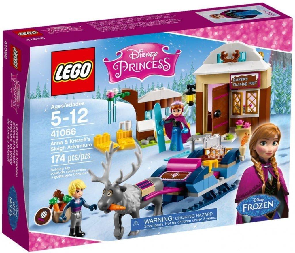 Review| Frozen LEGO® Slee-avontuur met Anna en Kristoff!