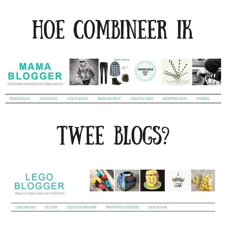 Hoe combineer ik twee blogs?