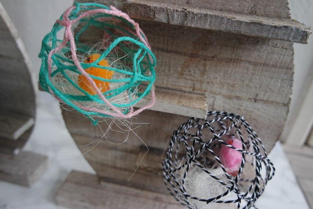 DIY budget|cotton ball paaseieren!
