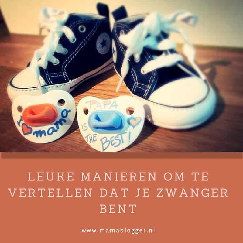 New Leuke manieren om te vertellen dat je zwanger bent | Mama blog #AM49