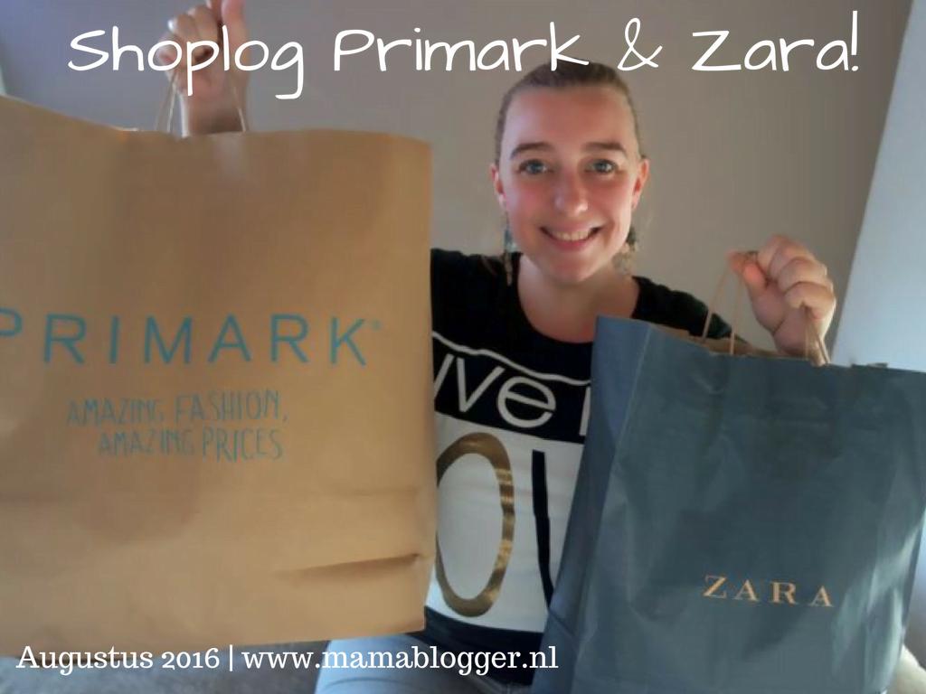 Shoplog Primark en Zara voor Milan!