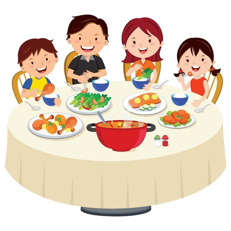 Dinnertime! Hoe laat eten jullie 's avonds?