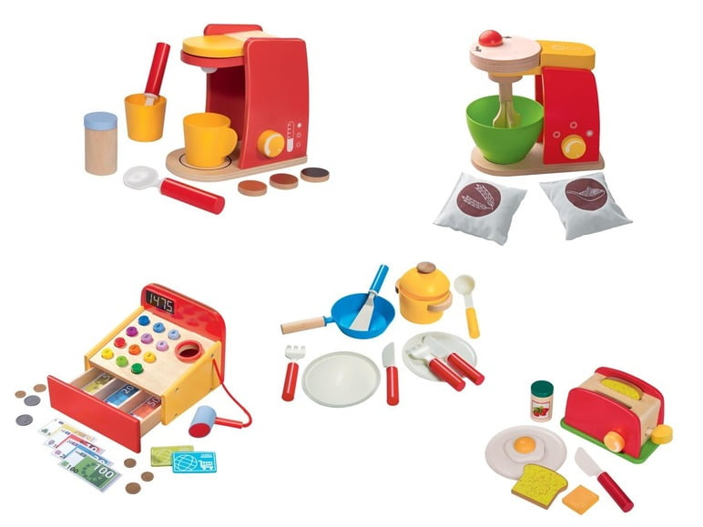 Houten Keuken Accessoires : Vanaf vandaag verkrijgbaar houten speelgoed van Lidl