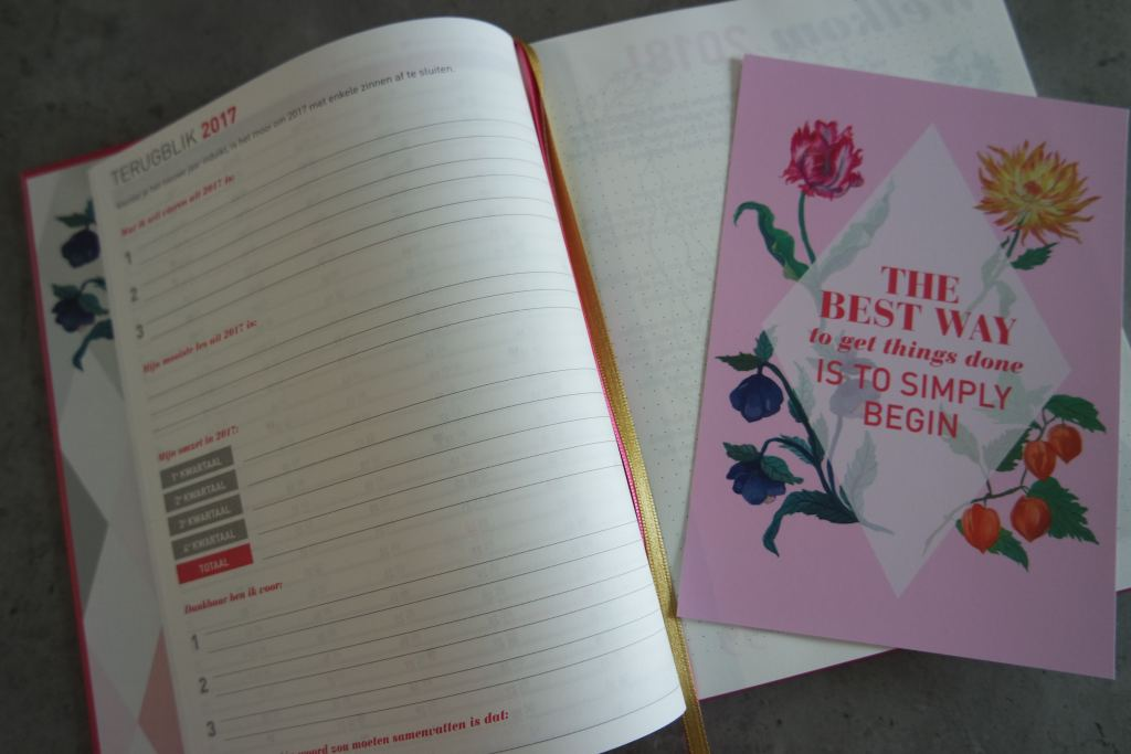 zakenmam agenda_blogbijbel_blogplanner_doelen stellen_review_mamablogger_2018_marisca_kenter_