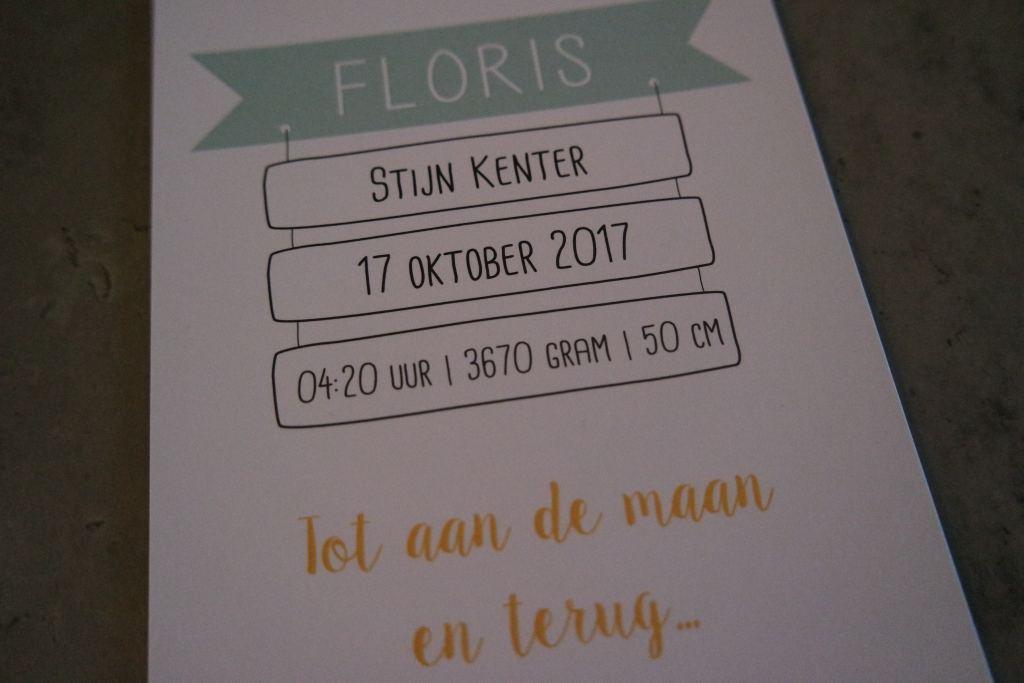 geboortekaartje_Floris_mamablogger_marisca_mevrouw emmer_gouda_geboorte_kaartje_