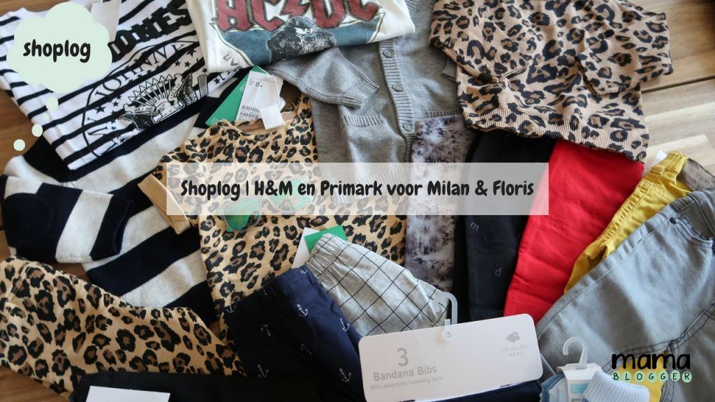 Vlog | Shoplog H&M en Primark voor Milan en Floris met luipaardprint!