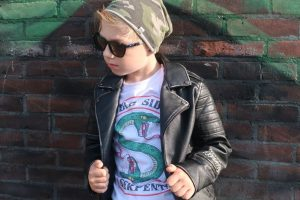 Jughead_Jones_South Side Serpents_Milan_kinderkleding_AliEpress_Mamablogger_kinderkleding_kidsfashion_bikerjack_Riverdale_