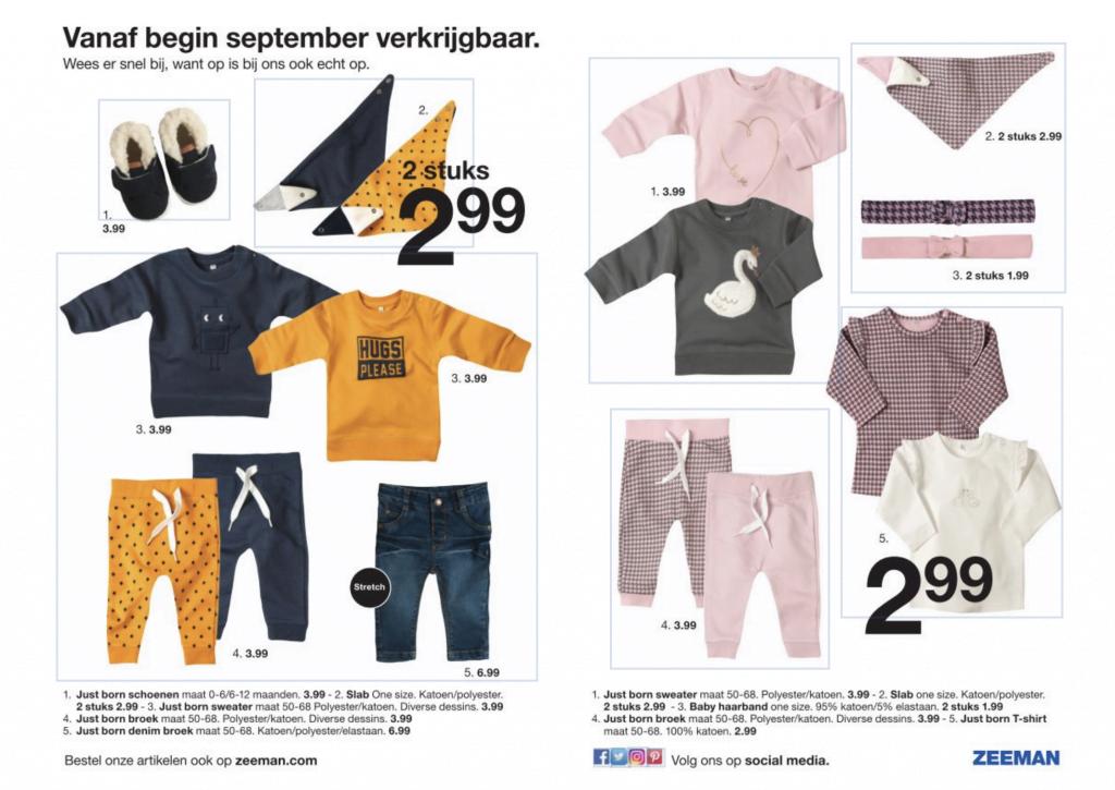 zeeman_folder_babykleding_okergeel_mamablogger_marisca_budget_baby_