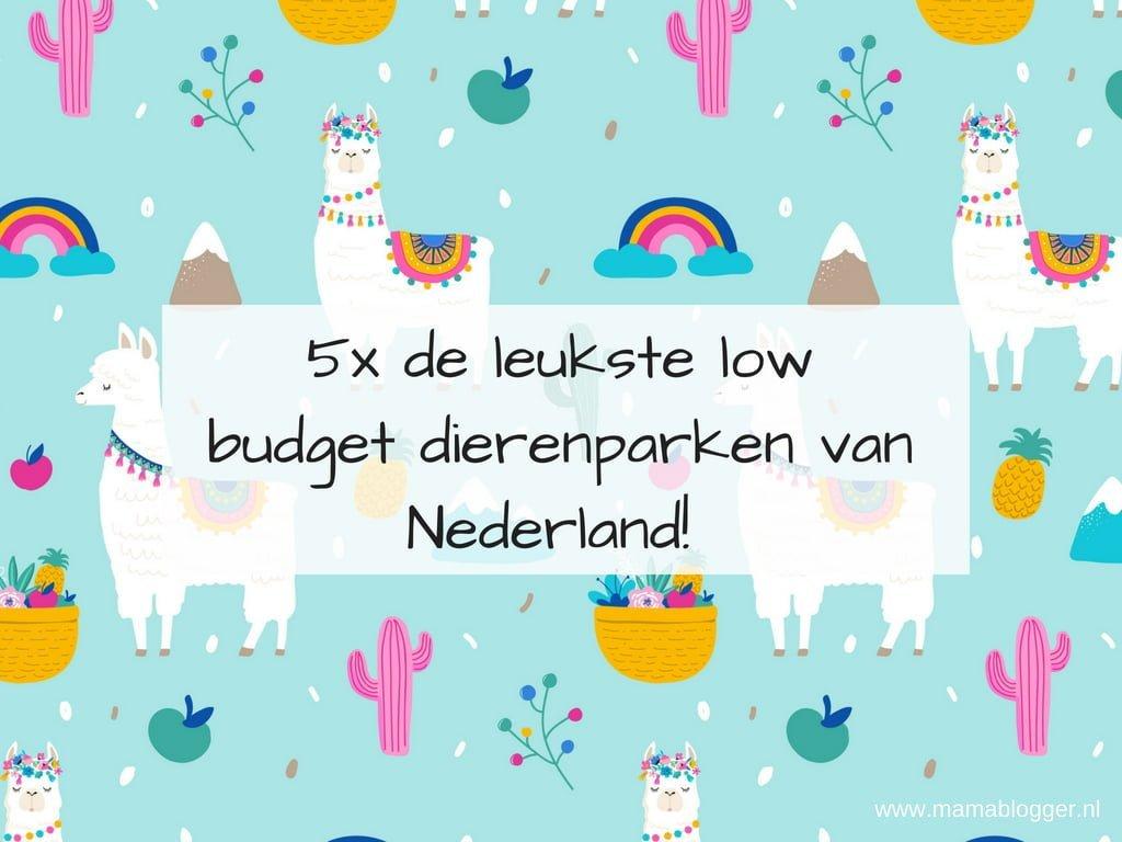 5x de leukste low budget dierenparken van Nederland + plattegronden!