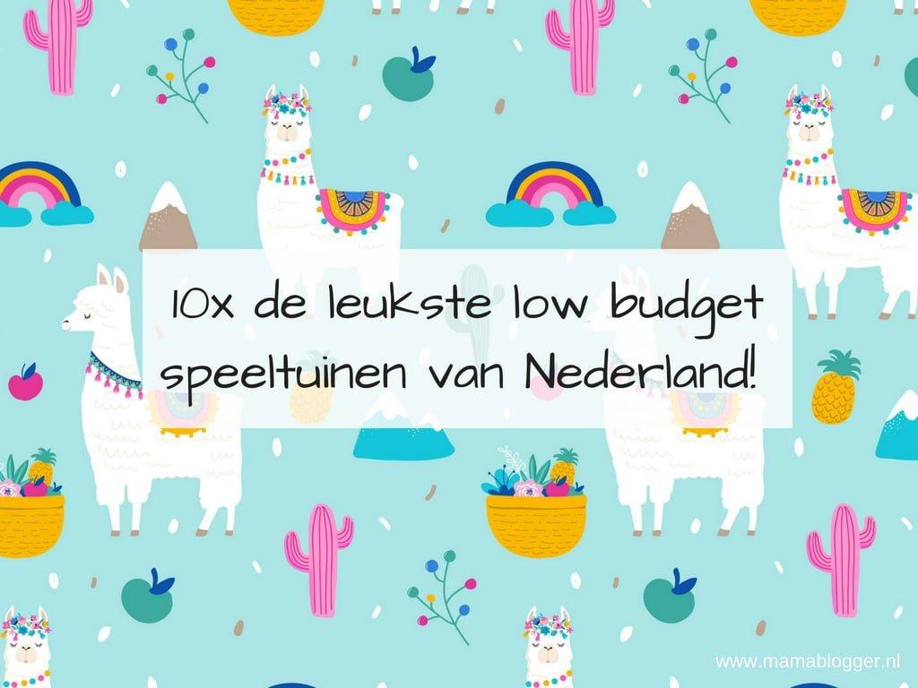 10x de leukste low budget speeltuinen van Nederland!