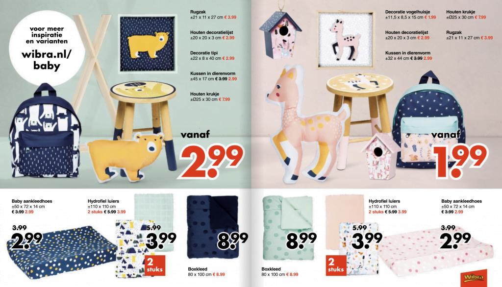 Budgettip | De nieuwe collectie van Wibra voor de baby- en kinderkamer!