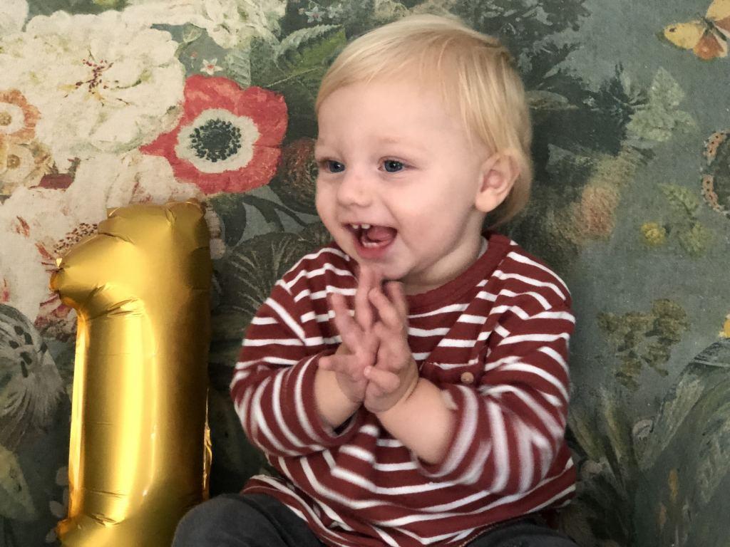 Hiep Hiep Hoera, Floris is 1 jaar!