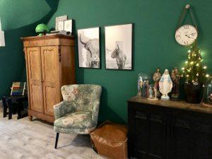 groen_muur_interieur_mamablogger_vintage_industrieel_