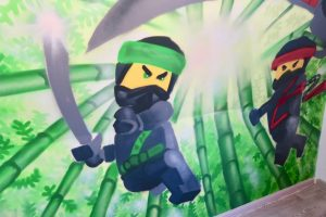 Lego_Ninjago_graffiti_muur_milan_kinderkamer_mamablogger_