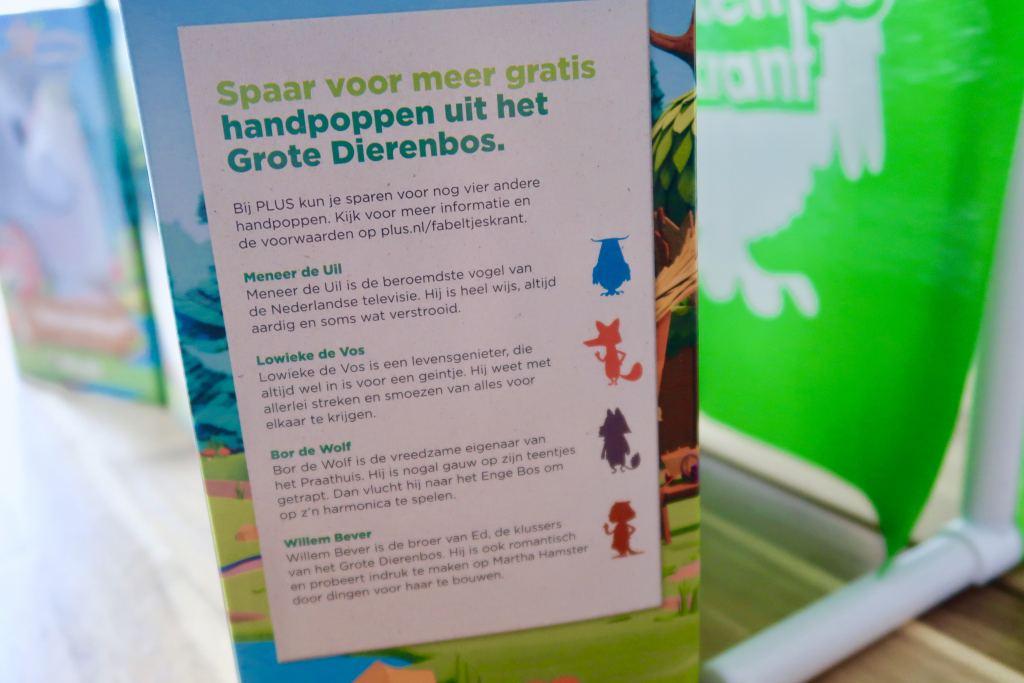 Fabeltjeskrant_spaaractie_plus_meneer de uil_supermarkt_mamablogger_