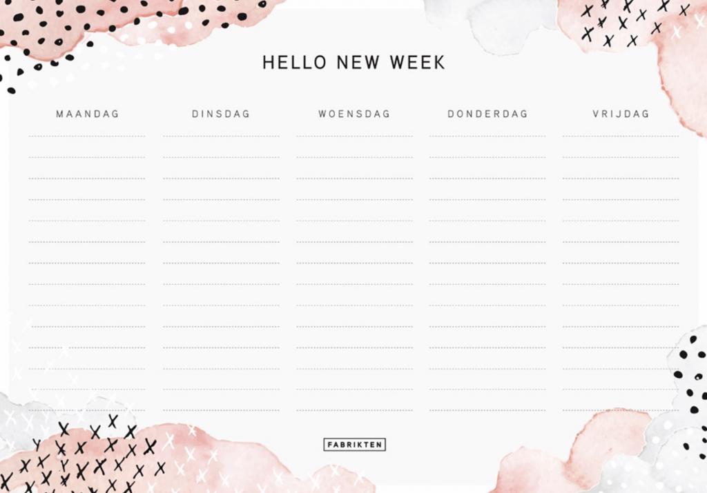 Dit zijn de leukste en handigste weekplanners!