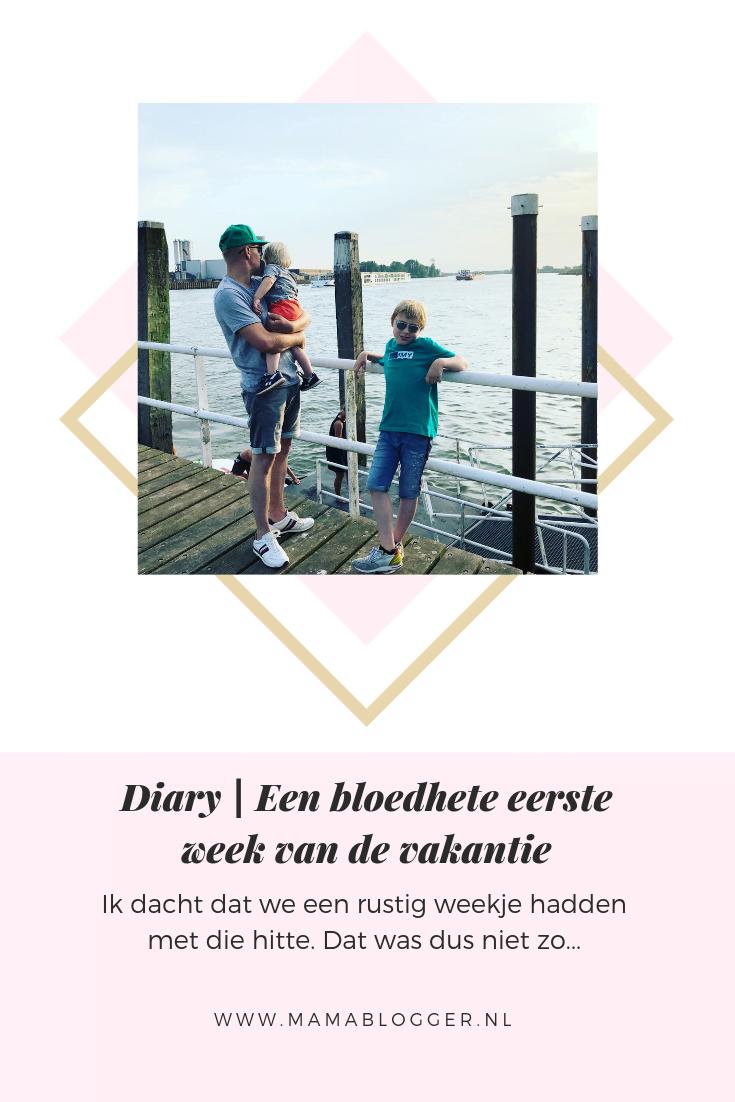 Diary | Een bloedhete eerste week van de vakantie