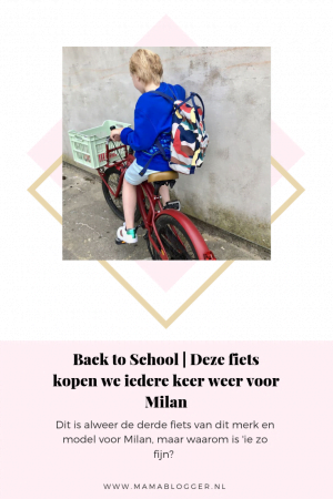 nieuwe fiets_popal_black fighter_back to school_mamablogger_