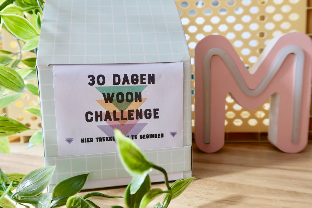 Interieur cadeautje | 30 dagen woon challenge van Kwantum!