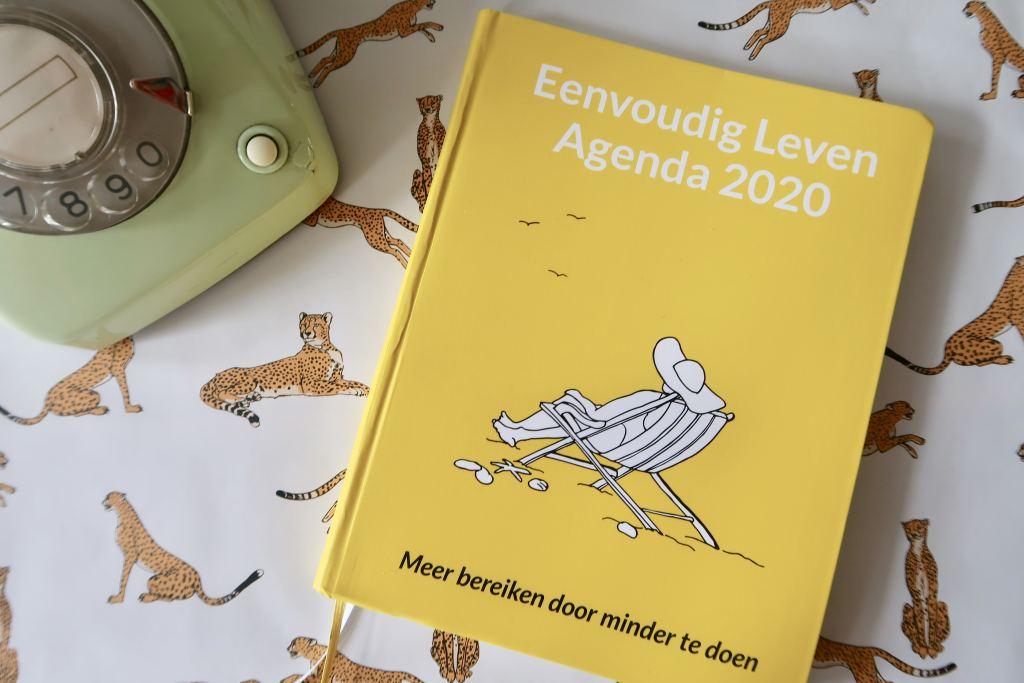 Eenvoudig Leven Agenda_review_2020_mamablogger_agenda_planners_zelfreflectie_