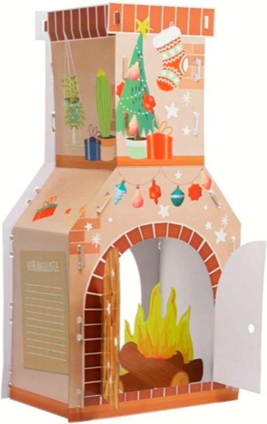 decemberhaard_pakjeshaard_schoorsteen van karton_Sinterklaas_Kerst_mamablogger_