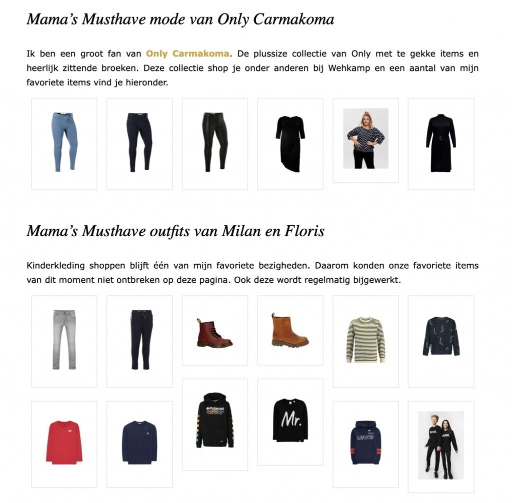 Achter de schermen | Mama's Musthaves Shop, een 'soort van' webshop?