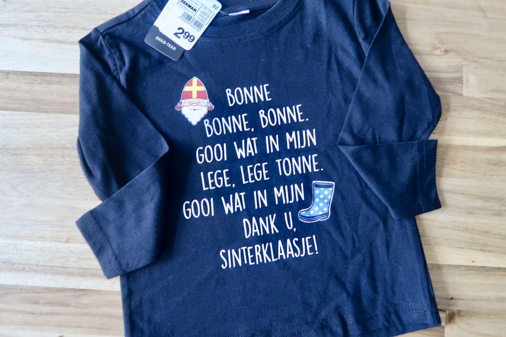 Sinterklaas_Zeeman_aftellen_aftelkalender_vlaggetjes_shirtje_Mamablogger_
