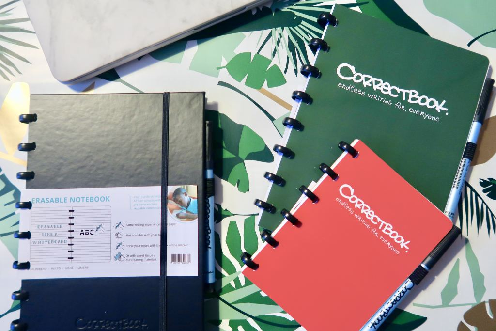 Coorectbook_stationery_mamablogger_missie_uitwisbaar_notitieboek_