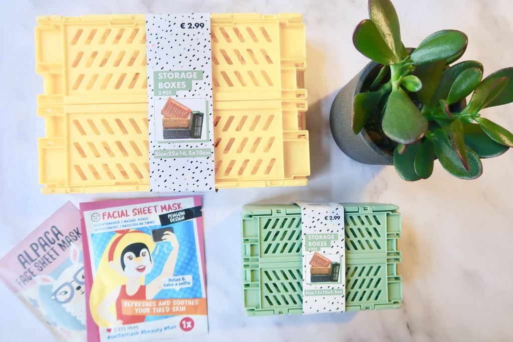Deze opvouwbare kratjes van Wibra zijn supergoedkoop en perfect voor traktaties! + leuke ideetjes met Action spulletjes