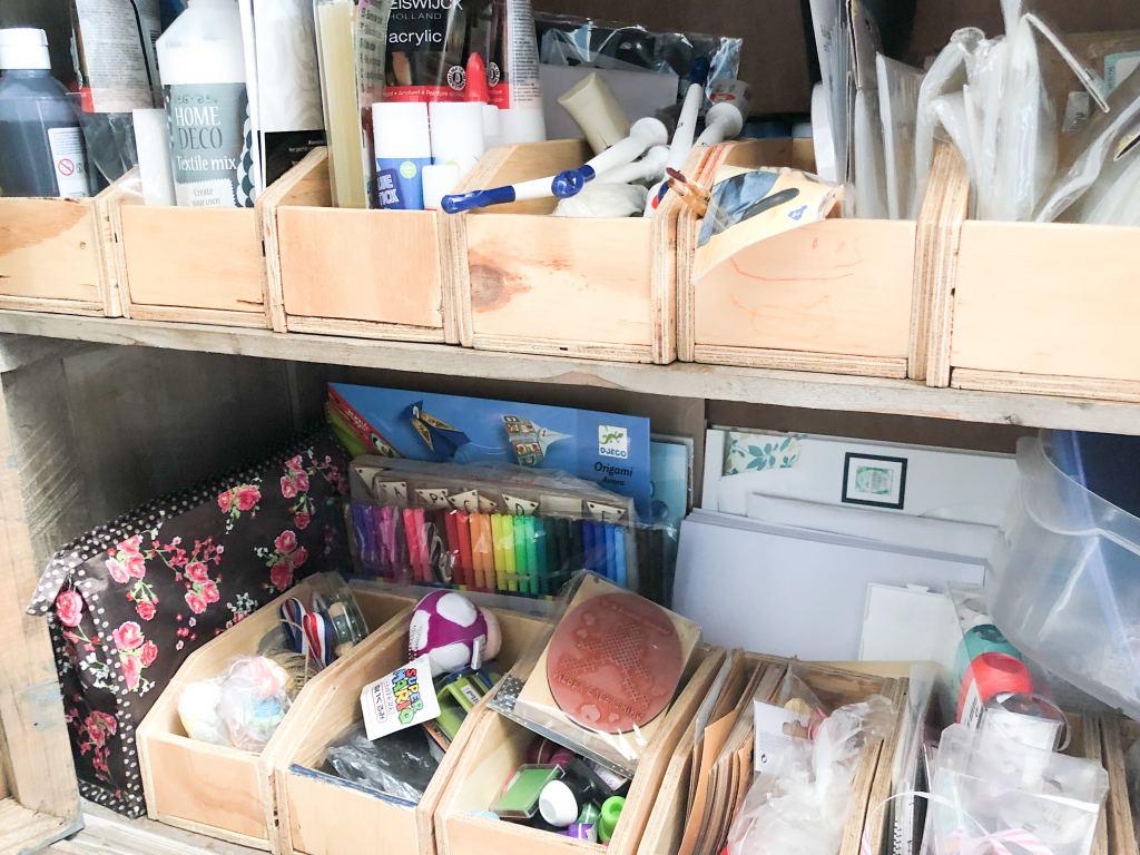 Huishoudelijk | Waar laat ik alle knutselspullen, planners en boeken?