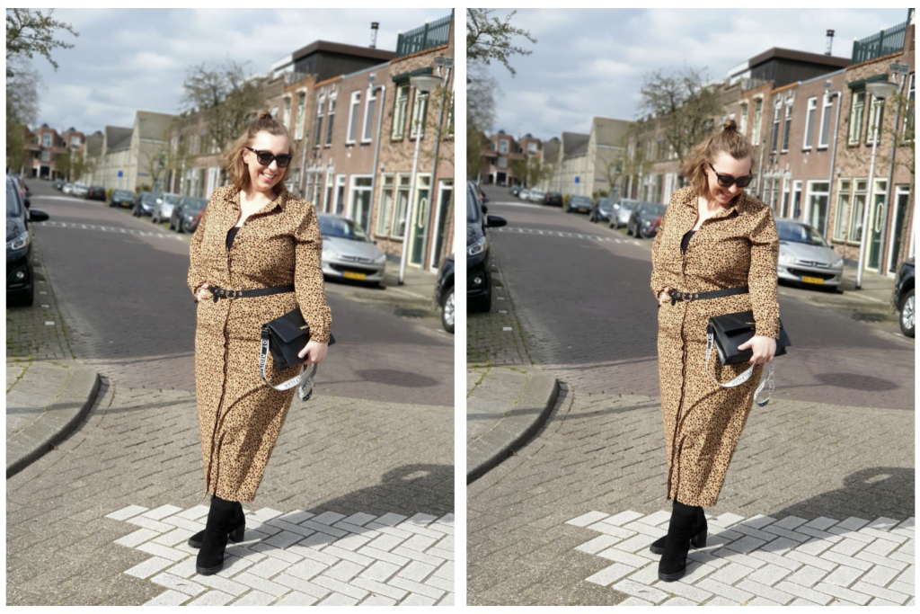 Outfit | Hoe leuk is deze luipaardprint jurk van de Wibra?! Ik laat zien hoe hij mij staat.
